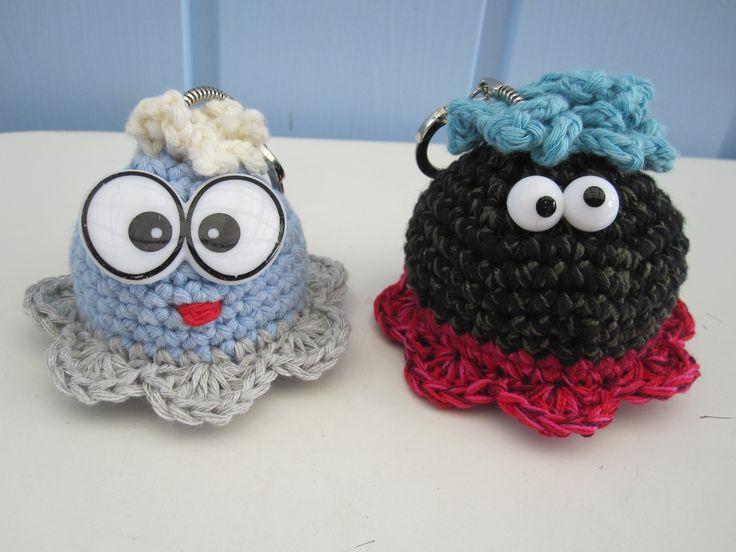 Keychain, funny and unik. Crochet