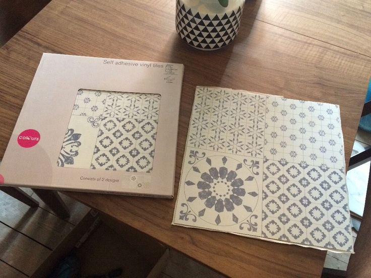 New Bq Self Adhesive Floor Tiles 3m In Norwich Norfolk Gumtree