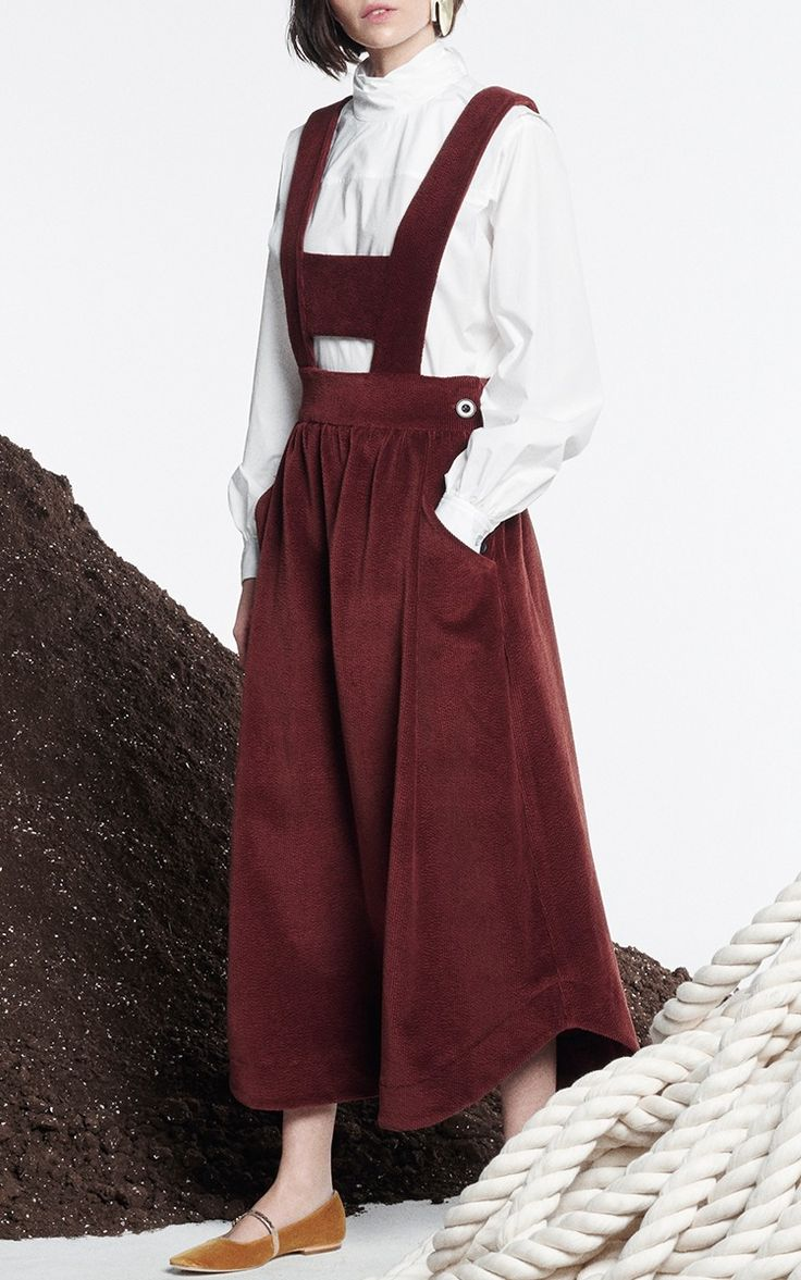 Cloe Pinafore Dress by Whit