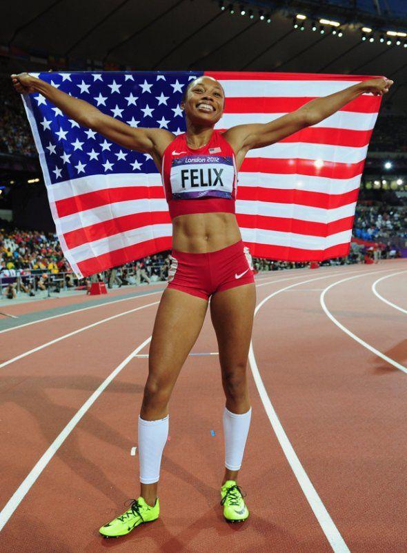 2012 Dynamic fit Allyson Felix
