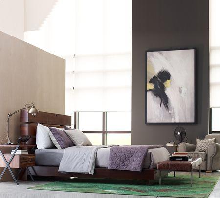 Iggy King Platform Bed | Reclaimed Wood Platform Bed Frame | Zin Home