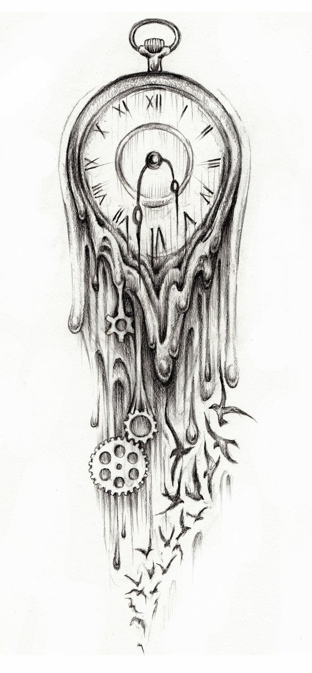 Ideas About Tattoo Designs On Pinterest Pocket Watch Design