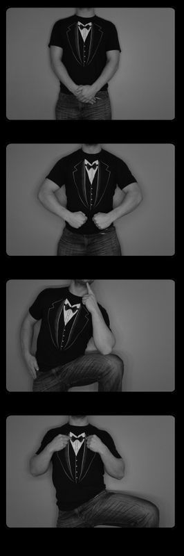 #TuxedoMan. #Black Photostrip.  #photobooth #mysteryman #photofun