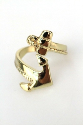 anchor wrap ring  #swoon boutique Racheal this is all you and Alpha Sigma Tau