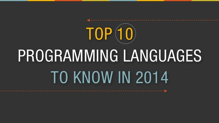 Top 10 Programming Languages to Know in 2014 by lynda.com via slideshare