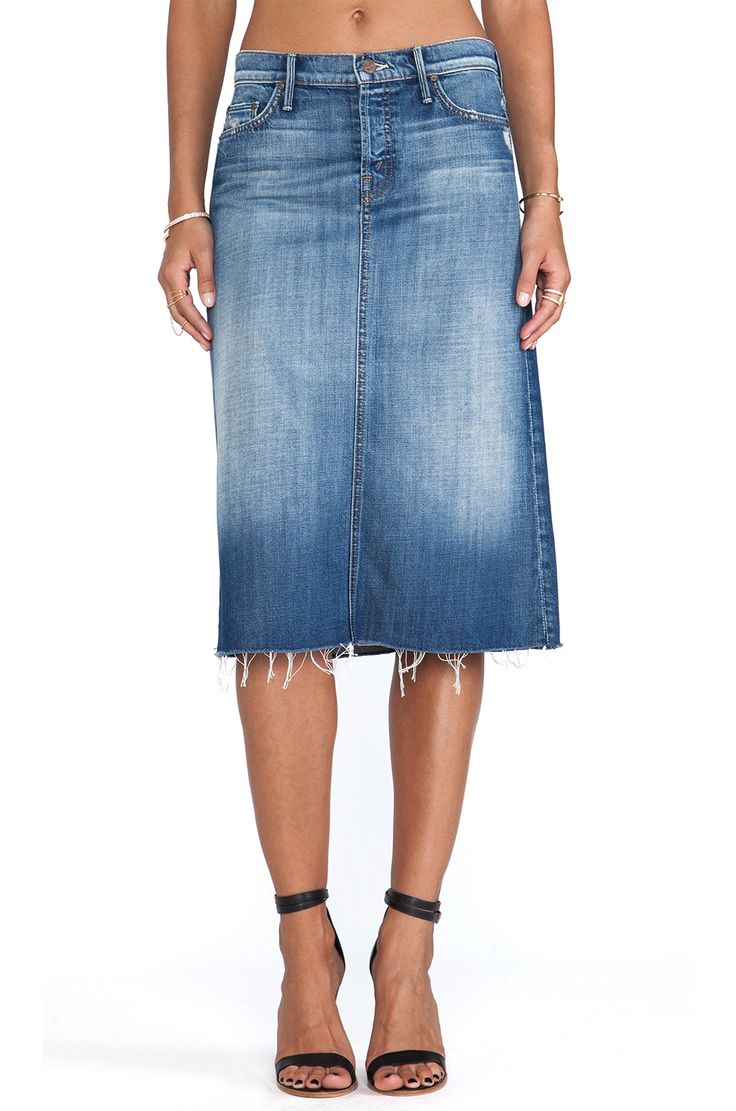 this ain t your s denim skirt