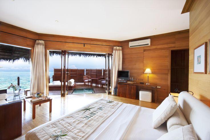 #Adaaran #Prestige #Water #Villas #Room #Interior #Maldives