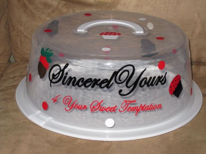 Personalized Cake Carrier & 44 best Cricut - Treat Carriers images on Pinterest | Cake carrier ...