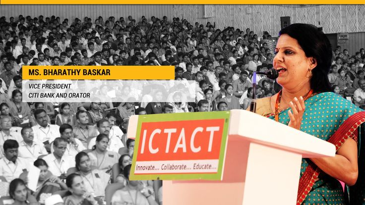 Best Inspirational Speech of Bharathy Baskar | Citibank