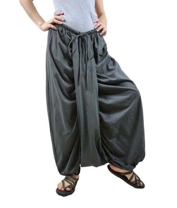 Boho Funky Hippie Stylish Steampunk Convertible Pants/Skirt In