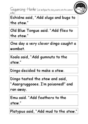 Wombat Stew ~ A week of reading activities from Miss Simplicity's Store on TeachersNotebook.com (22 pages)