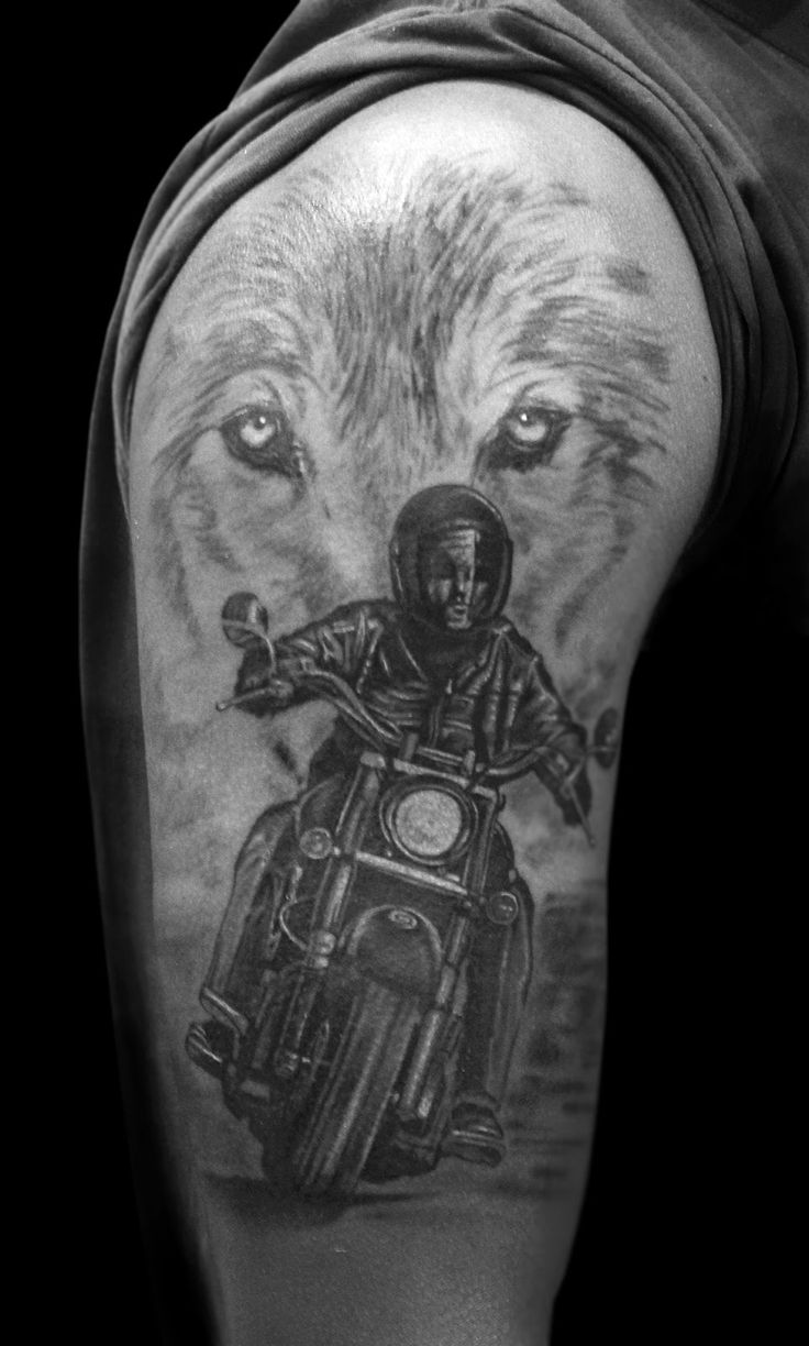 Route 66 tattoo picture at checkoutmyink com - Best Harley Davidson Tattoos This Is Really Super
