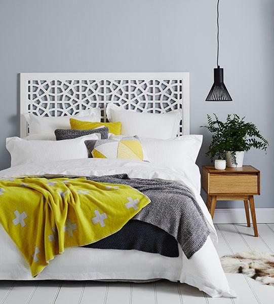 White, yellow, grey
