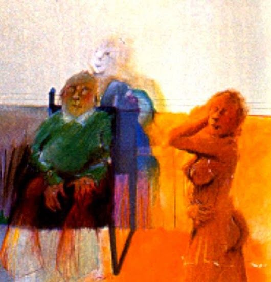 PINTORES LATINOAMERICANOS-JUAN CARLOS BOVERI: Pintores Colombianos: LUCIANO JARAMILLO