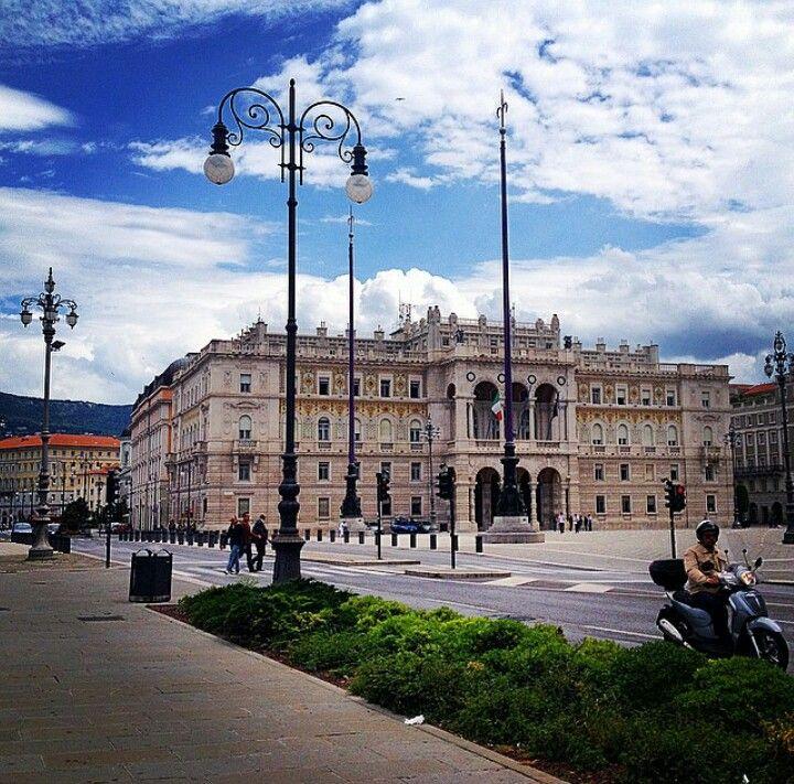 Piazza dell'Unità d'Italia in Trieste, Italy