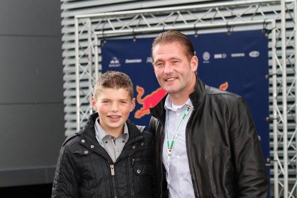 ♥ Jos en Max Verstappen