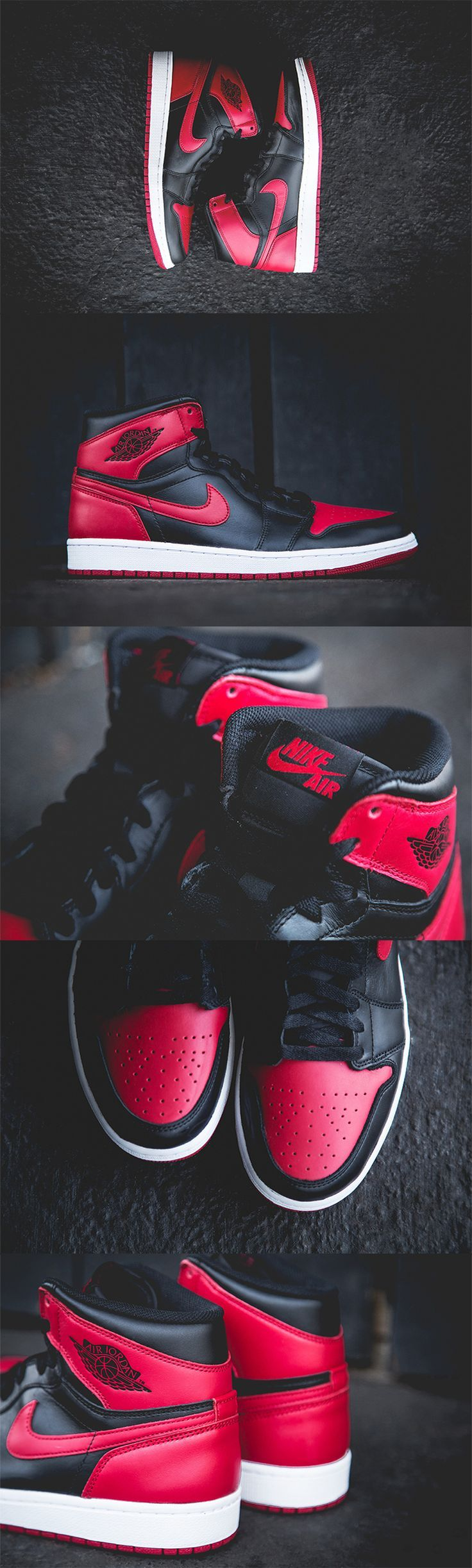 "Air Jordan 1 Retro - ""Bred"" aka my dream shoes"