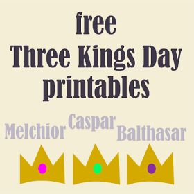 Three Kings Day Printables