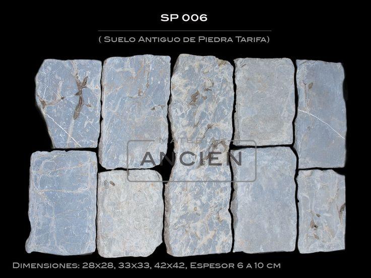 adoqun antiguo de granito colores material ancien