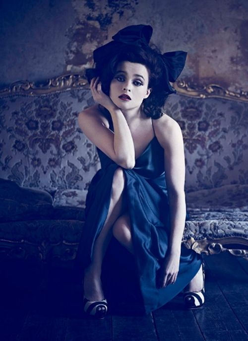 Helena Bonham Carter. It doesn't matter what she is in. I love her.