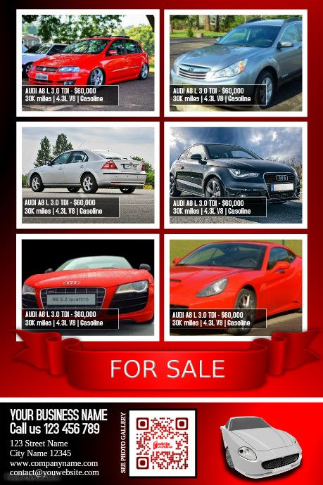 12 best My Car Flyers images on Pinterest Flyers, Cars and Posters - car for sale template