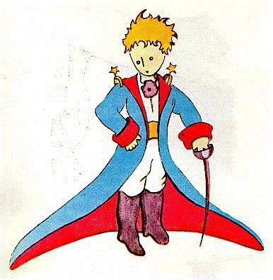 And the inspiration for it all, Antoine de Saint-Exupery.  Le Petit Prince...