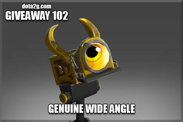 Giveaway 102 - Genuine Wide Angle