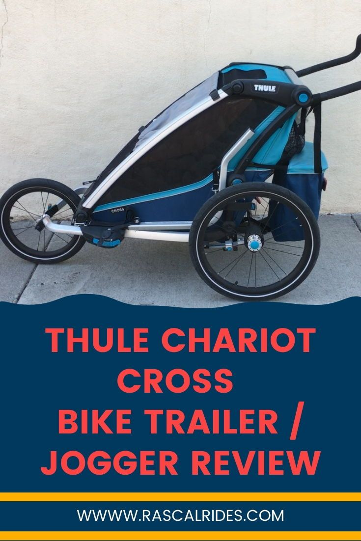 Thule Chariot Cross Bike Trailer Jogger Review With Images