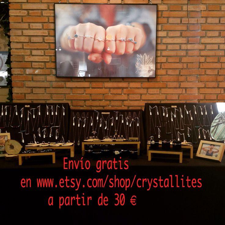 Envío gratis en nuestra tienda usando el código CRYSTALLITES30