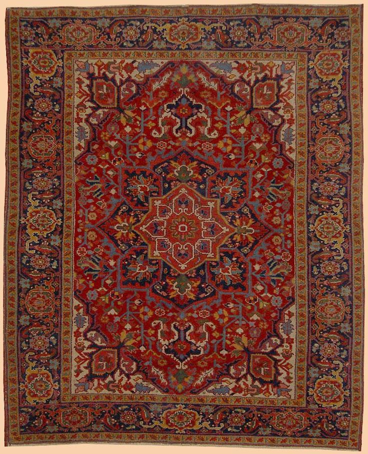 Antique Carpets Persian 1910