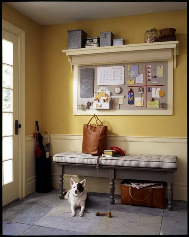 Message board with shelf above; perfect for the door or an office- it would also be great for a stable