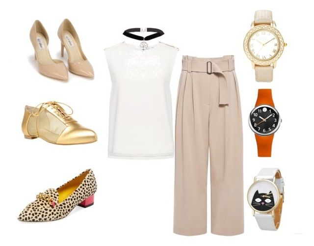 """""""3 options"""" by nayere-ruas on Polyvore featuring A.L.C., Finders Keepers, Alepel, Nly Shoes, Charlotte Olympia, Chico's and Philip Stein"""