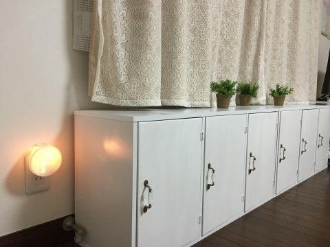 DIY超初心者:3段ボックス(カラーボックス)に扉を付ける方法(まとめ) つめこみBOX