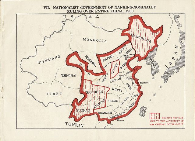 Nationalist government of Nanking 1930