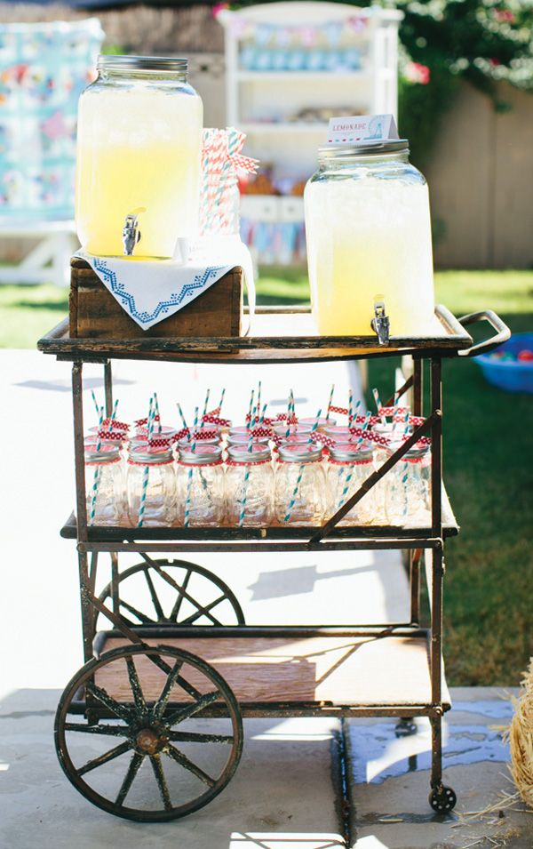 {Amazing!} Rustic & Vintage County Fair First Birthday