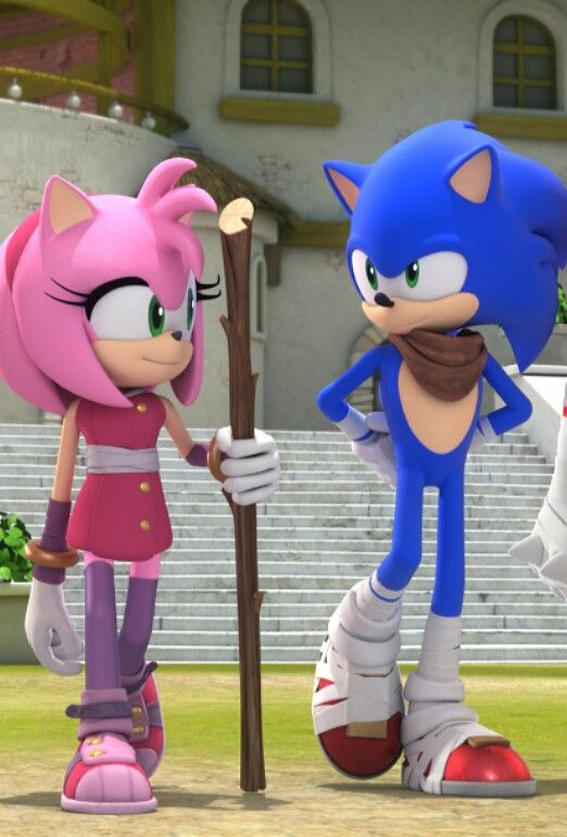 Amy: Hey sonic want to go camping with me (#YES OR NO SONIC)