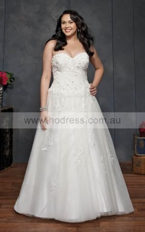 Lace-up Ball Gown Empire Sweetheart Wedding Dresses hdcf1102--Hodress