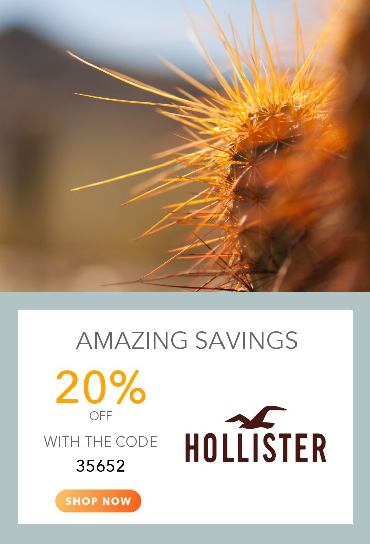 Get 20 off 1 item 25 off 2 items 30 off 3 items hollister co coupons pinterest