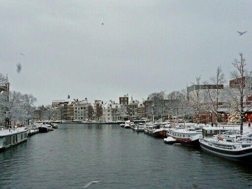 Wintertime Amstel