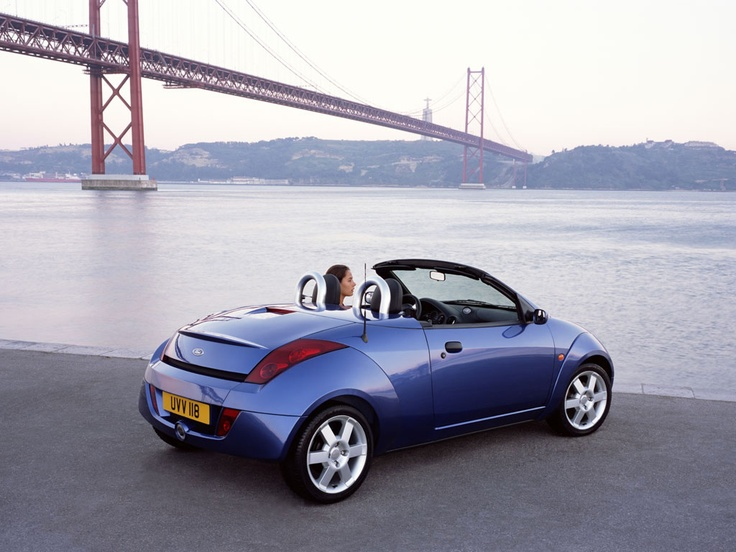 Ford StreetKa --- I used to want one of these as an affordable convertible....and then they stopped making them! Looked fun!