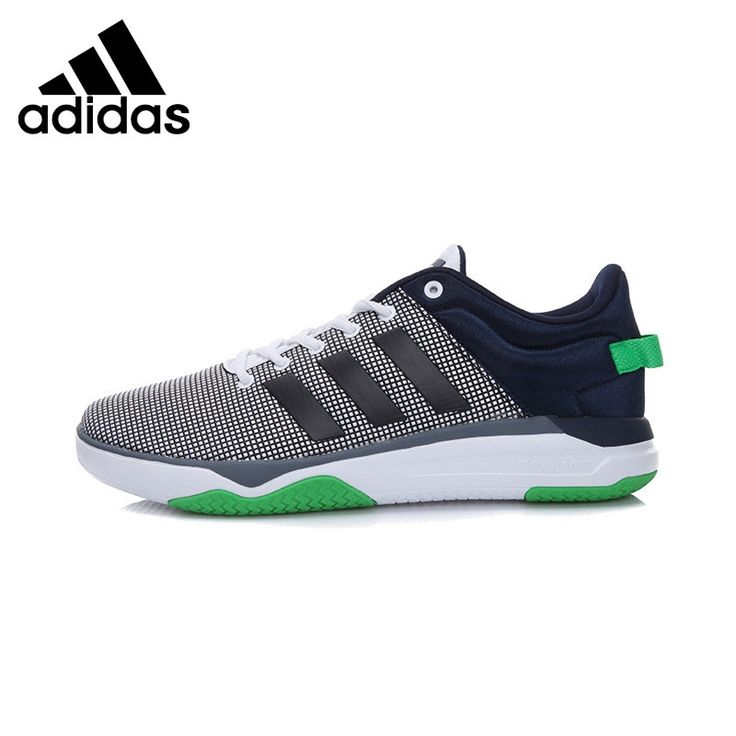 Original New Arrival 2017 Adidas NEO Label Cloudfoam Swish Men's Skateboarding Shoes Sneakers