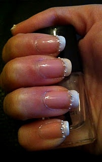French studded nails