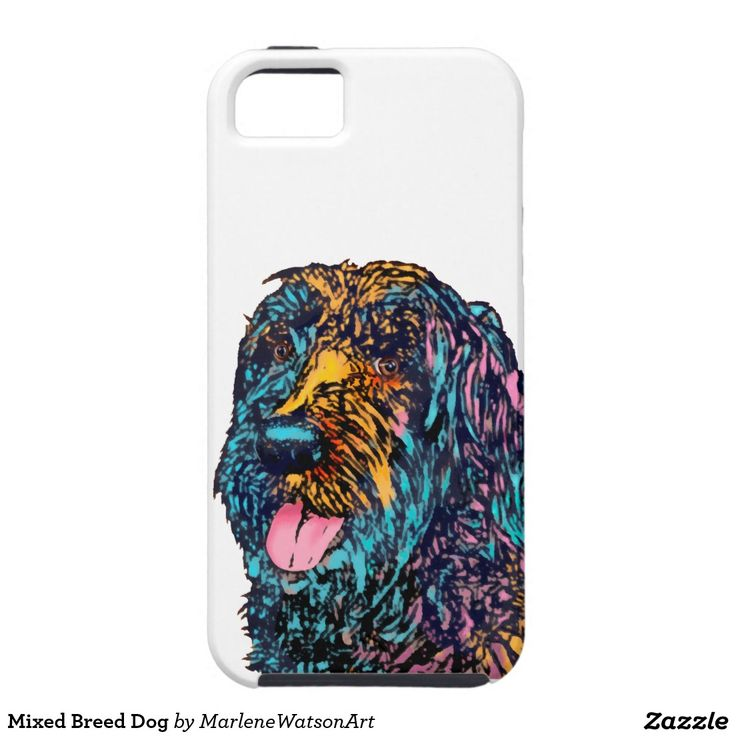 Mixed Breed Dog iPhone 5 Cover