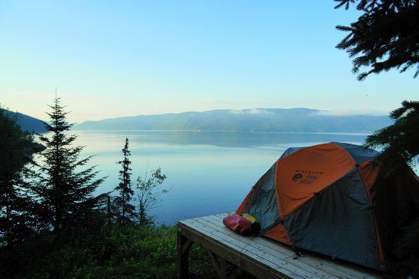 2 jours de rêve en Kayak de mer - havre de paix dans 2 parcs nationaux: celui du Fjord-du-Seguenay et celui du Parc Marin du Saguenay St-Laurent