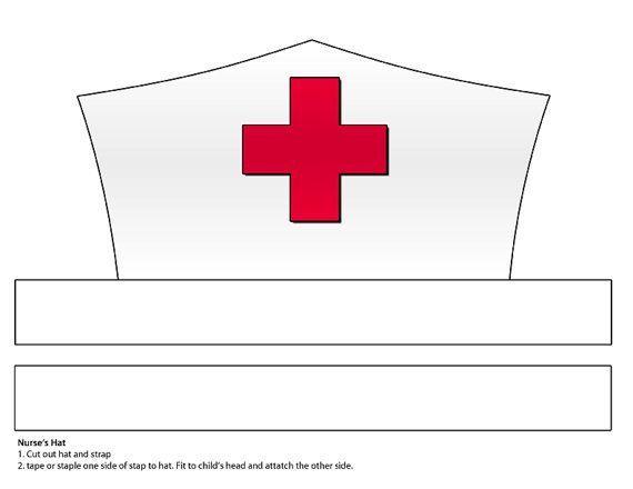 Printable Nurse Hat Template