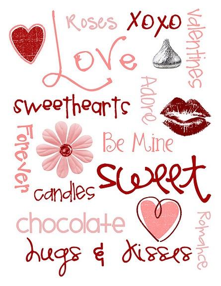 My Valentine Art