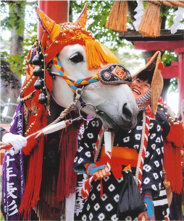 第38回ちゃぐちゃぐ馬コ写真コンテスト 最優秀賞 菊地真一さん「情」 The horses parade (Chagu Chagu Umakko Festival )