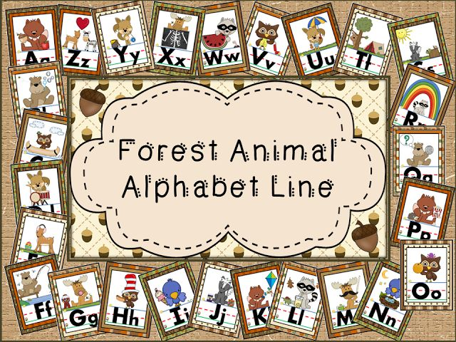 Alphabet Lines Galore for your Classroom Decor!!! - Little Warriors