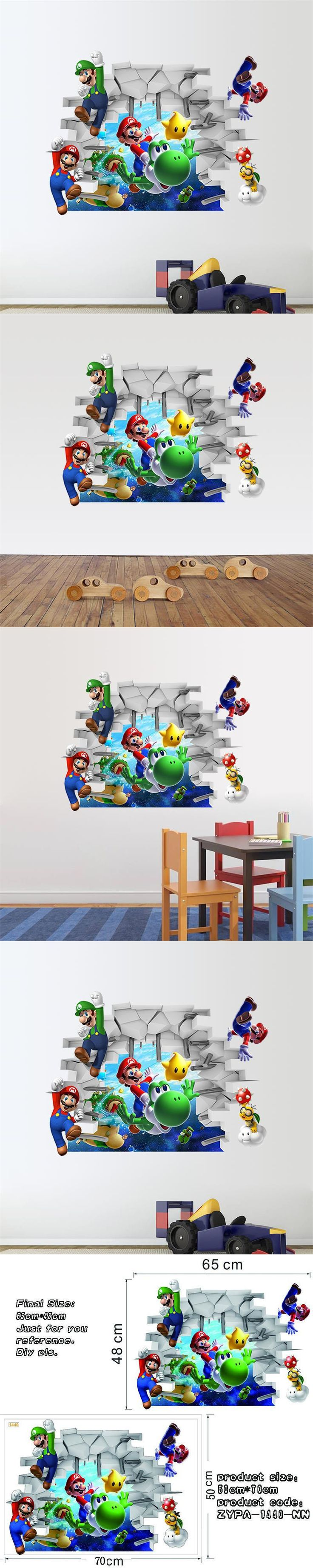 best 25 wall stickers for nursery ideas on pinterest vinyl wall super mario wall stickers for nursery pvc wall stickers diy zooyoo1440 game room wall art home decor cartoon adesivo of parede