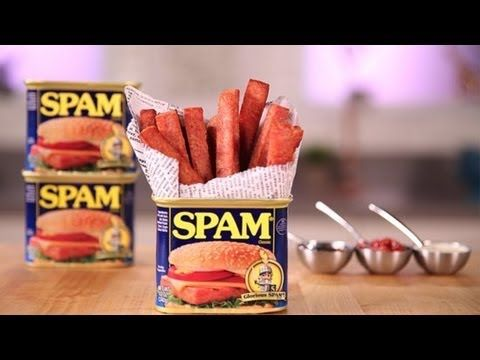 I should've been born Hawaiian!  How to Make Spam Fries | Eat the Trend | Food How To